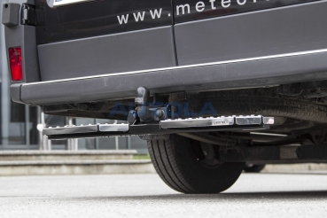 Trittstufe Trittbrett f Flanschkugel Anhängerkupplung für Transporter UNIVERSAL